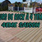 Cours Rock 4 Temps en vidéos au Logis Du Cotentin pour ma chaine YouTube