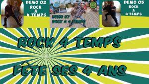 ROCK 4 TEMPS Fête Ses 4 Ans